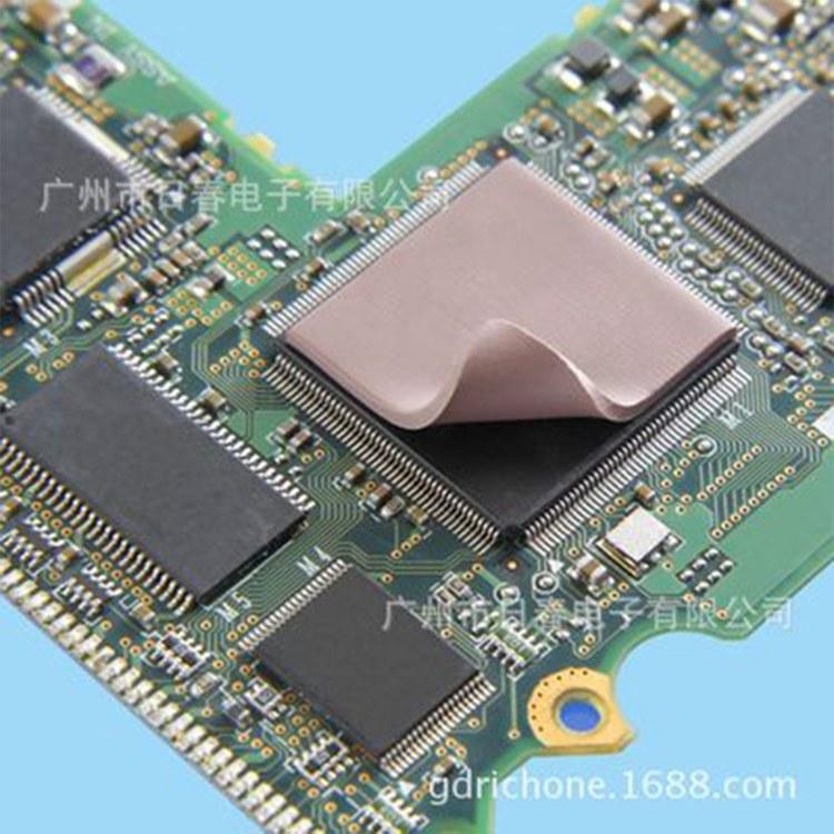 广州日春工厂直销导热硅胶片 散热