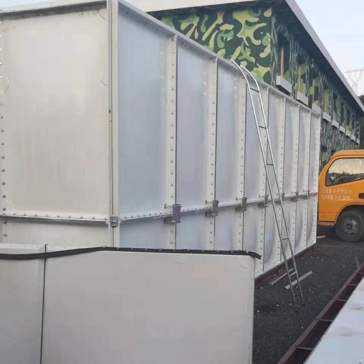 玻璃钢饮用生活水箱 组合式 SMC消防式 方形式 厂家直销
