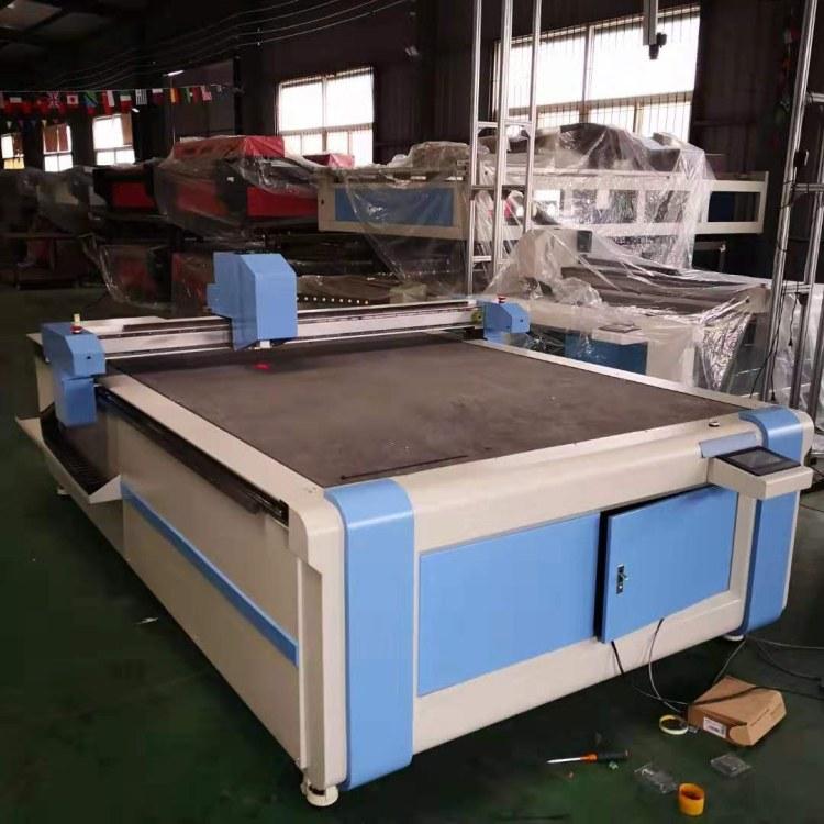 安徽芜湖硅胶垫片震动刀切割机,济南镭利厂家直销PVC软玻璃裁剪机