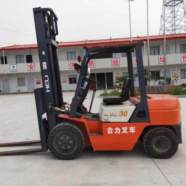 合力3吨柴油叉车-3吨自动挡可上牌二手叉车