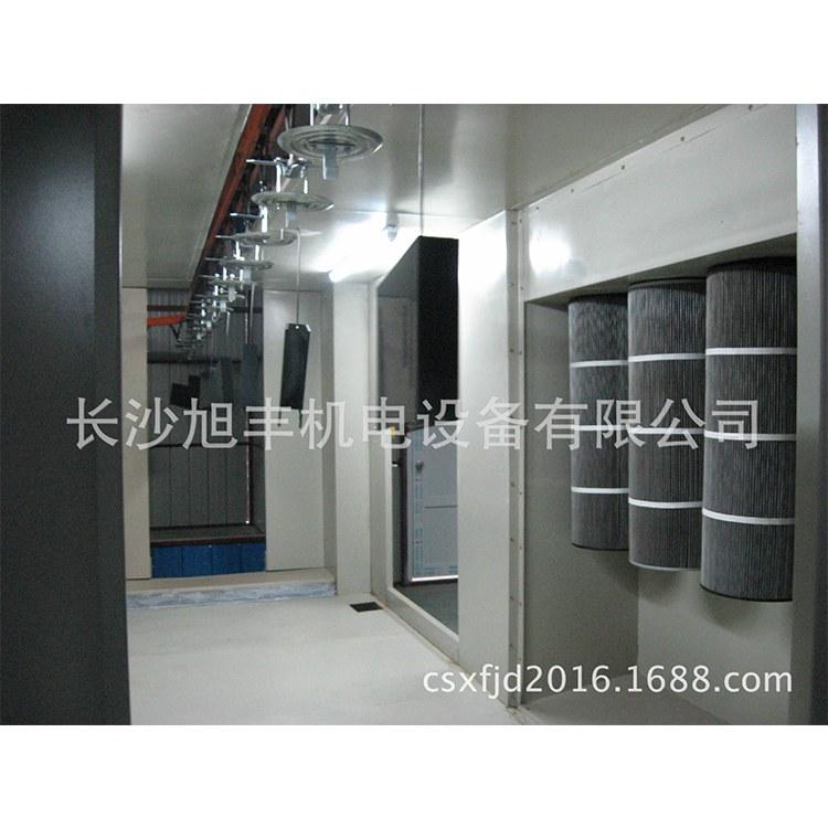 长沙丰旭 专业定制,设计,制造安装水帘喷漆台,喷漆柜,瓷砖喷漆台
