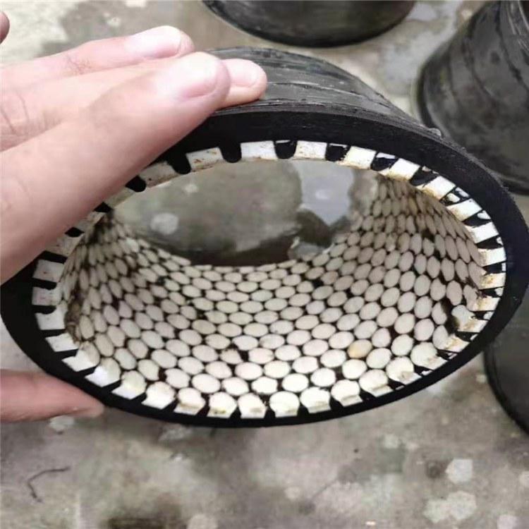 河北直销内衬陶瓷喷砂管 氧化铝耐磨陶瓷管 三元乙丙喷砂管 欢迎选购