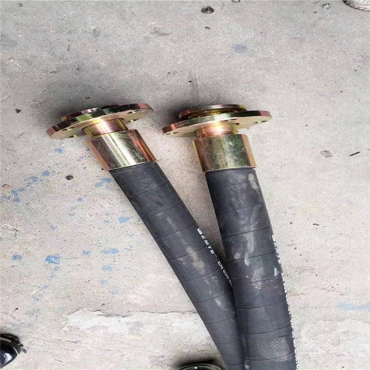 高压钢丝编织胶管大口径高压橡胶管甘肃矿用耐磨软管厂家
