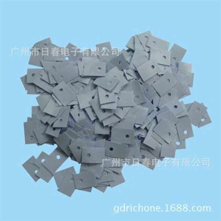 厂家直销导热硅胶片 散热 TO-220导热硅胶片 散热