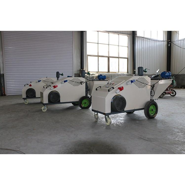 博恩牌工地水泥腻子柱塞式砂浆喷涂机全自动工程大功率小型喷浆机喷涂机