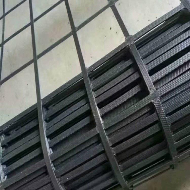 厂家生产定制 水利工程用异形钢塑土工格栅80-50 单价 路德新材料