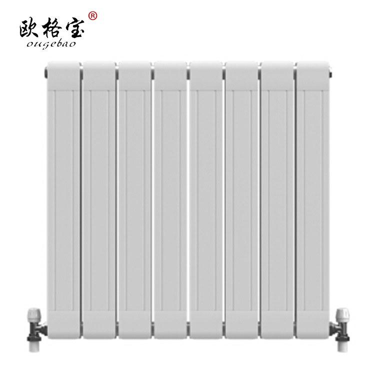 欧格宝 铜铝复合暖气片家用水暖散热器壁挂式厨房浴室卫生间暖气集中自采暖定制铜铝复合85*75