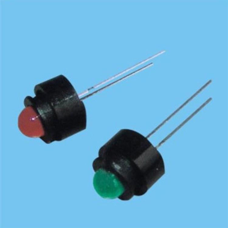 工厂直销 LED四平脚座 发光管四平脚座 平扣四平脚座