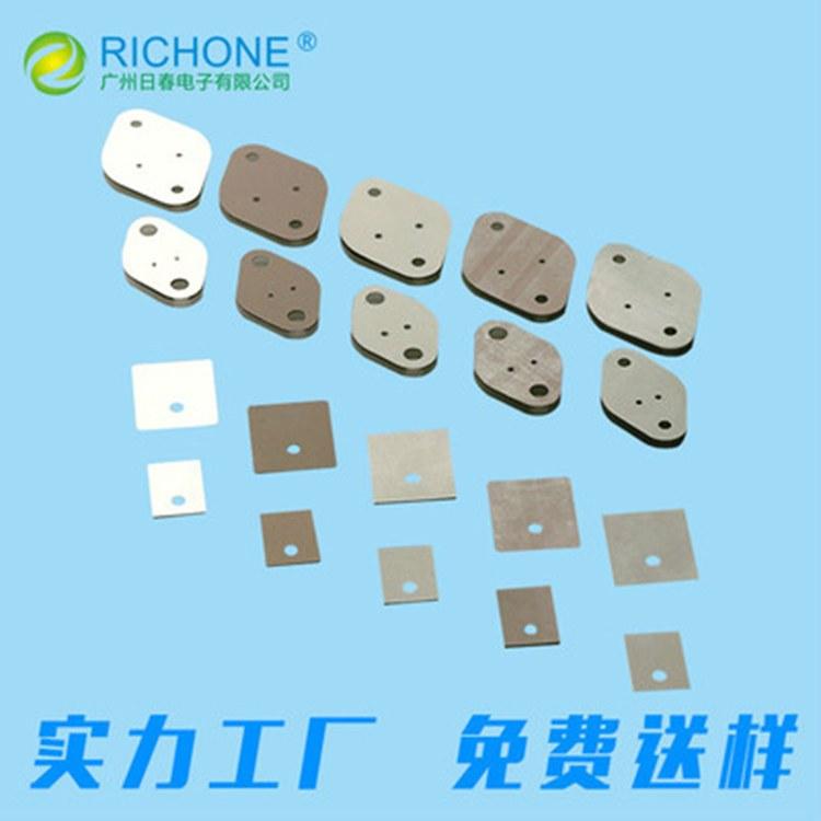 厂家直销 0.45mm灰色导热矽胶片 SP610矽胶片TO-3P 矽胶片加工