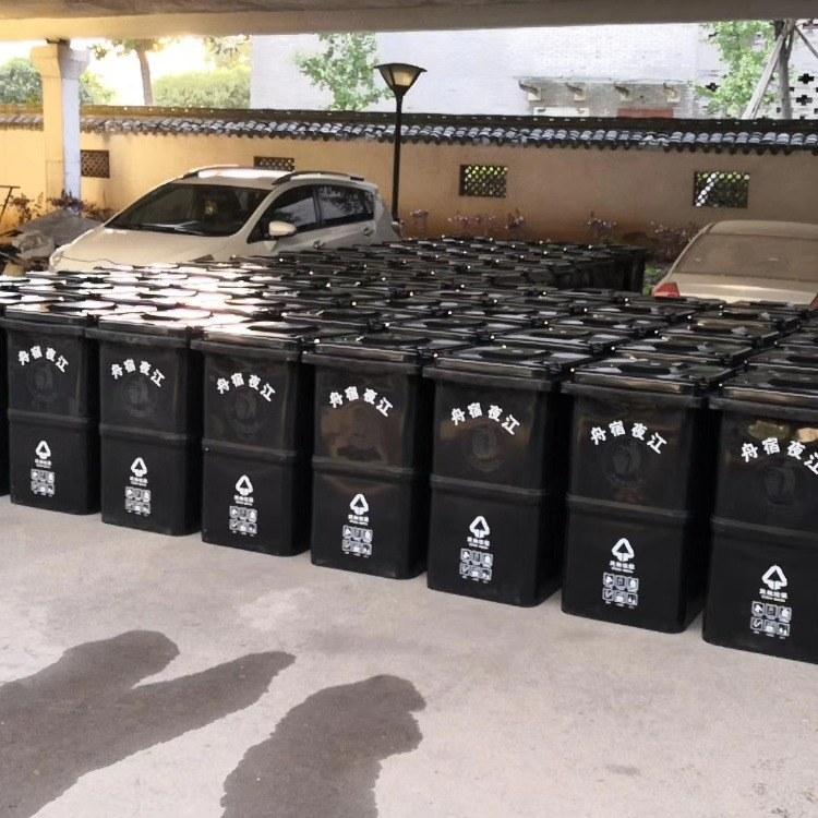 物业,小区,学校,广场,厨房塑料垃圾桶,环卫塑料垃圾桶,胜皇实业环卫设备生产厂家