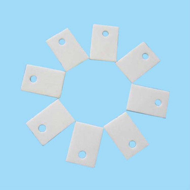 厂家直销 TO220陶瓷片 导热陶瓷片 氧化铝陶瓷片 散热陶瓷片