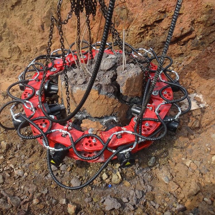 程煤截桩机 电动混凝土桩头切割机 抱箍截桩机 直销