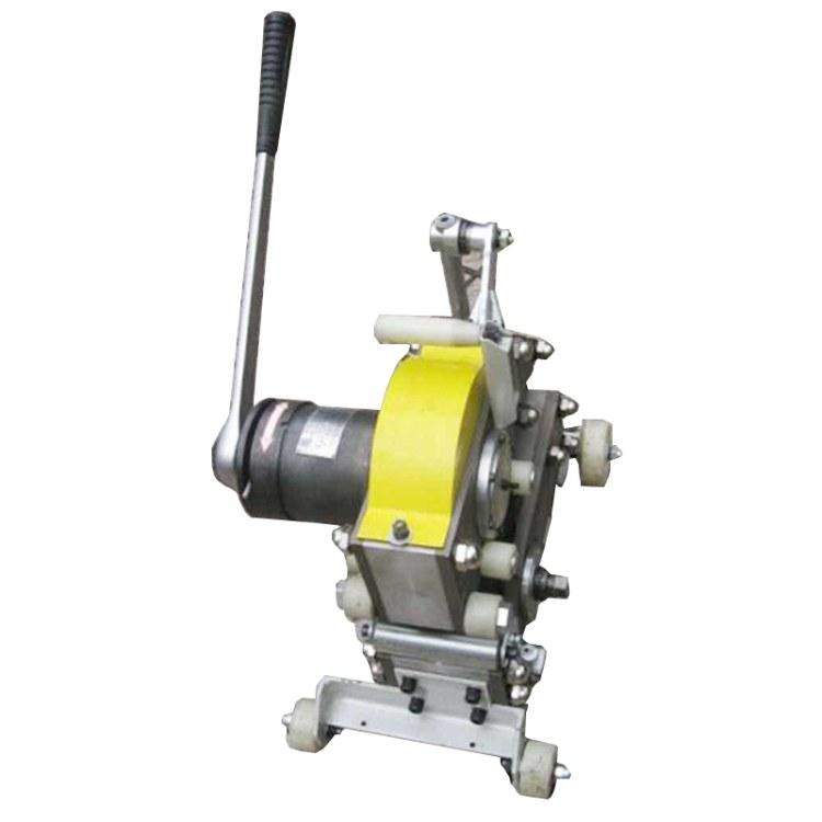 程煤便携式钢丝绳芯输送带切割机 SCBC 3K钢丝绳皮带切割机直销