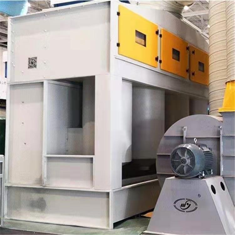 家旭厂家直销气旋柜 水帘废气处理设备 环保涂装气旋柜