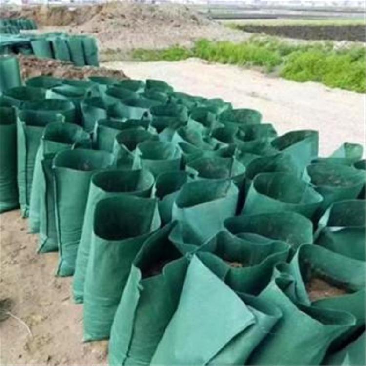 现货供应绿色环保中德利带草种生态袋厂家热销价格低廉