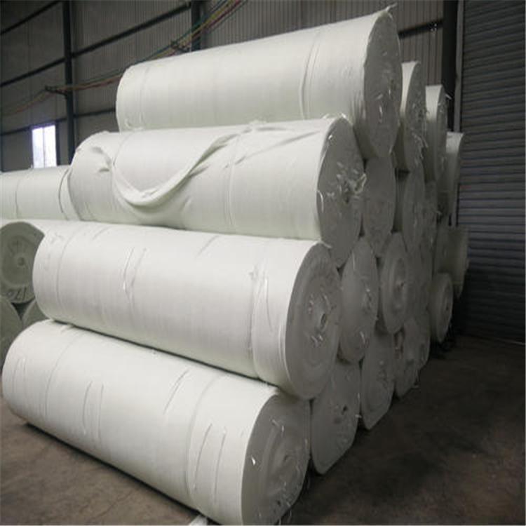 烧毛土工布厂家热销价格低廉路面养护烧毛土工布