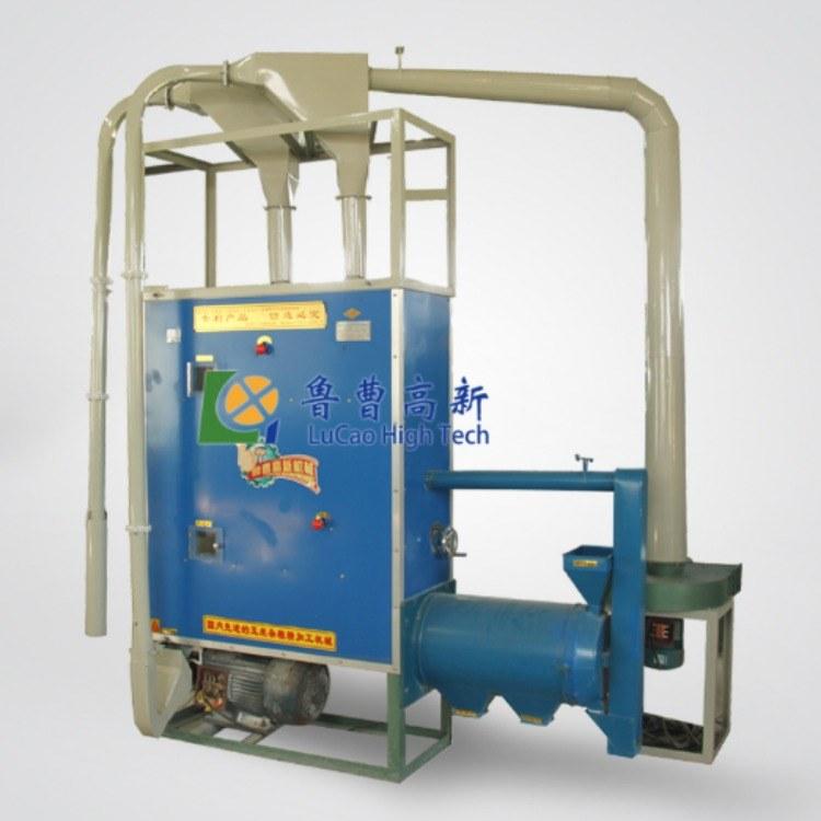 鲁曹高新 高效全自动自动上料玉米制糁机组  打碴子机