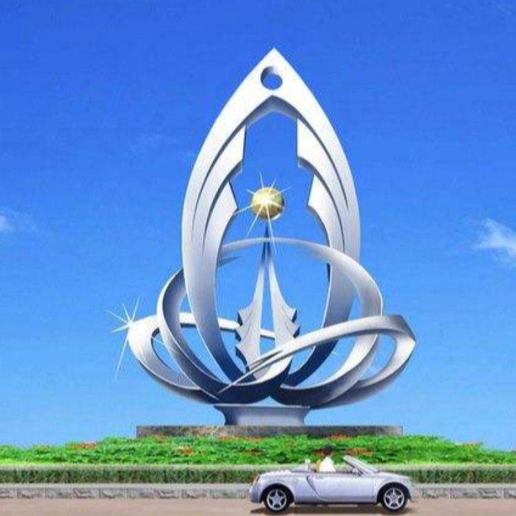 菏泽不锈钢雕塑造型 瑞鑫雕塑 广场不锈钢雕塑造型设计制作公司