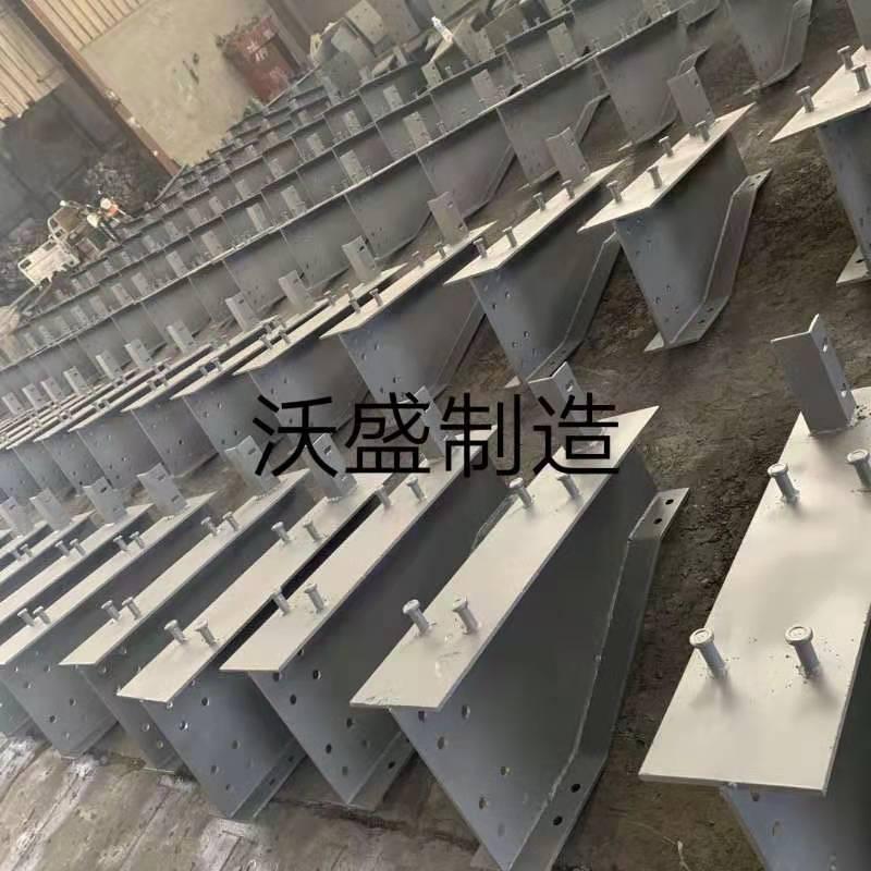 简支梁人行道钢横梁 钢压板 人行道支架的生产与使用方法