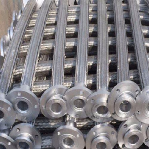 防爆管道金属软管 大口径管道金属软管公司 鑫驰生产线