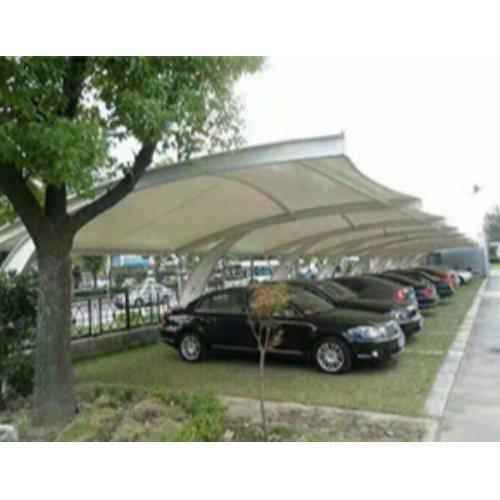 承接汽车车棚膜结构 临朐汽车车棚膜结构工程 丰艺景观