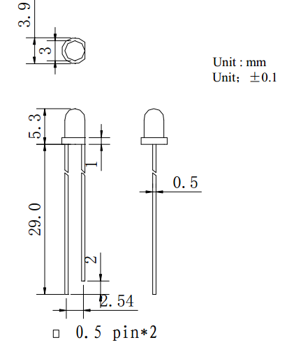 绍兴台铭光电 5mm UV紫光365-410nm UV固化