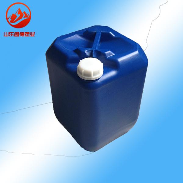衡水20l塑料桶20kg定型液桶新乡20公斤堆码20升小闭口桶加厚
