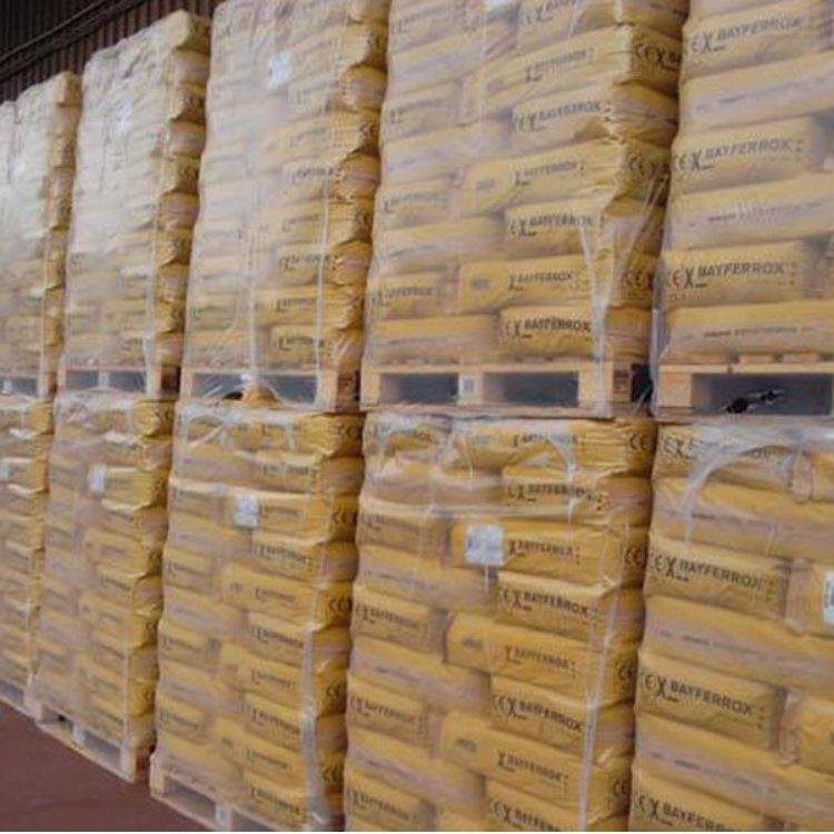 鲁储化工 天然氧化铁黄多少钱 浙江氧化铁黄批发