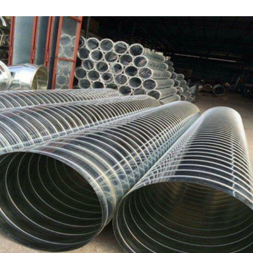 白铁皮加工通风管通报价 杭州迈起 镀锌白铁皮加工通风管通报价