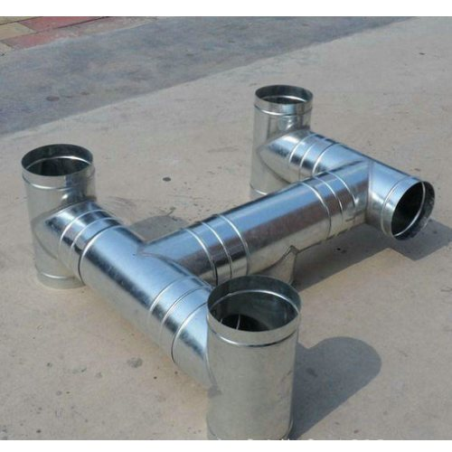 大型白铁皮加工风管 白铁皮加工风管报价 杭州迈起