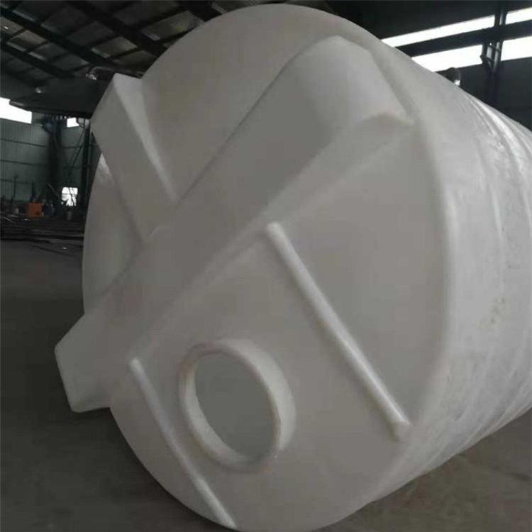 富大容器 食品级塑料加药箱 2吨PE加药箱 6吨黄色加药箱厂家