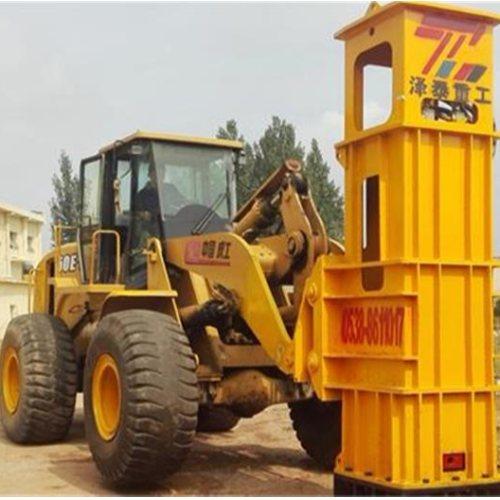 高速夯实机哪里有卖 铲车装载机带夯实机多少钱一台 泽泰重工