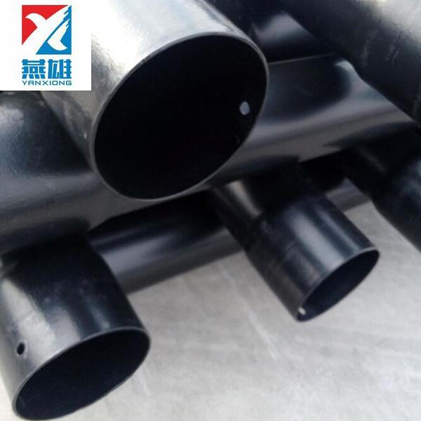 燕雄 大口径热浸塑钢管现货 阻燃热浸塑钢管定制