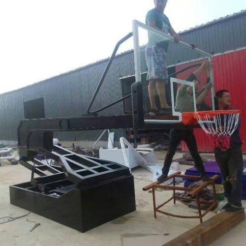 学校 天健 新国标篮球架厂家直销学校厂家直销