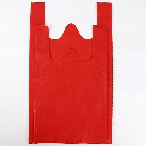 绿衡 超市无纺布背心袋原材料 供应超市无纺布背心袋定制