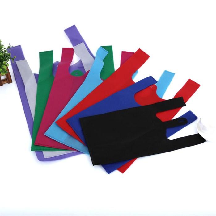 优质无纺布食品背心袋设计 无纺布食品背心袋设计 绿衡