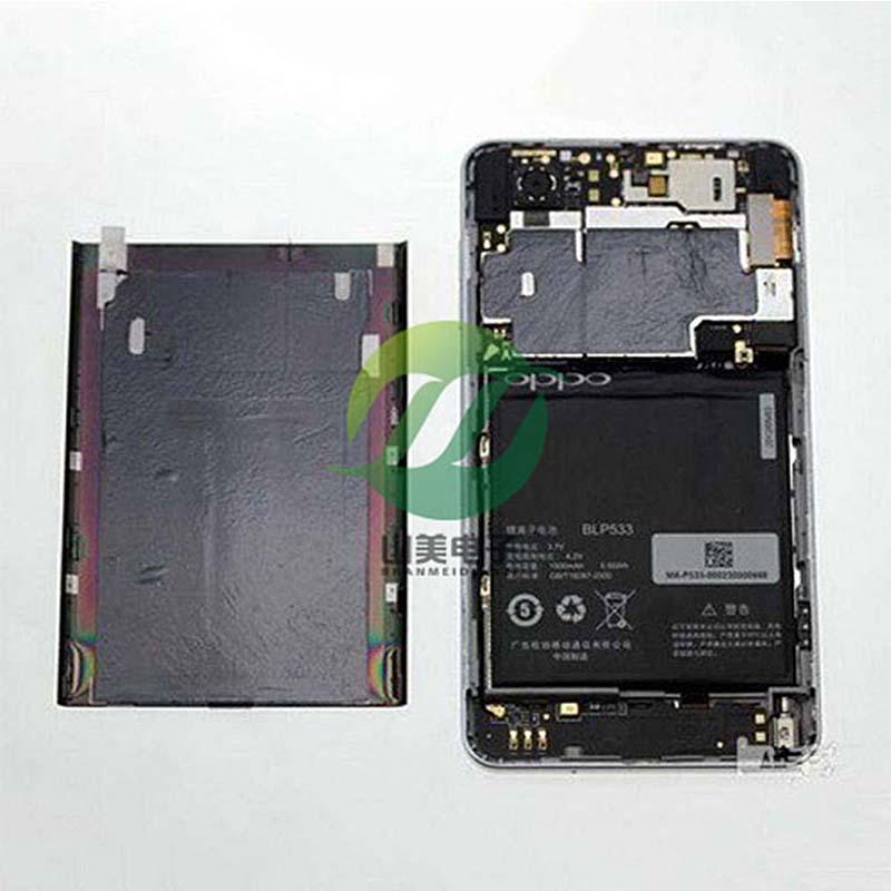 可定制TIR600手机导热石墨片 T-GON超薄高导热石墨片可背胶冲型