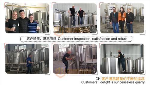 2000升太阳集团成登录网址,配备10-20个发酵罐可满足生产啤酒的目的,操作简单包学包会示例图14