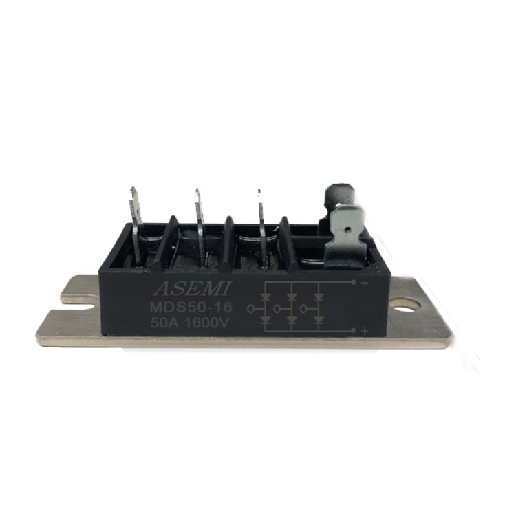 ASEMI首芯 MDQ100-16三相整流模块 MDQ100-16整流模块电路