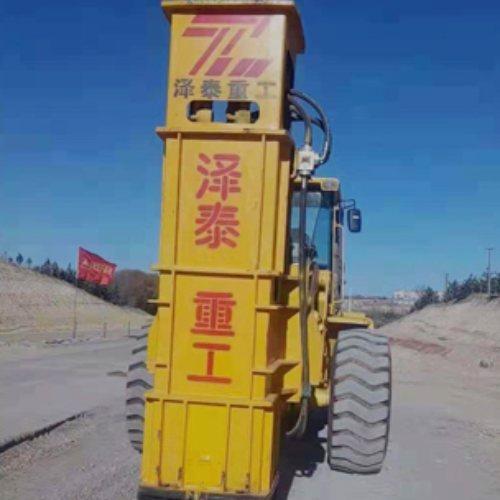 泽泰重工 铲车带夯实机供应商 高速夯实机出租商家