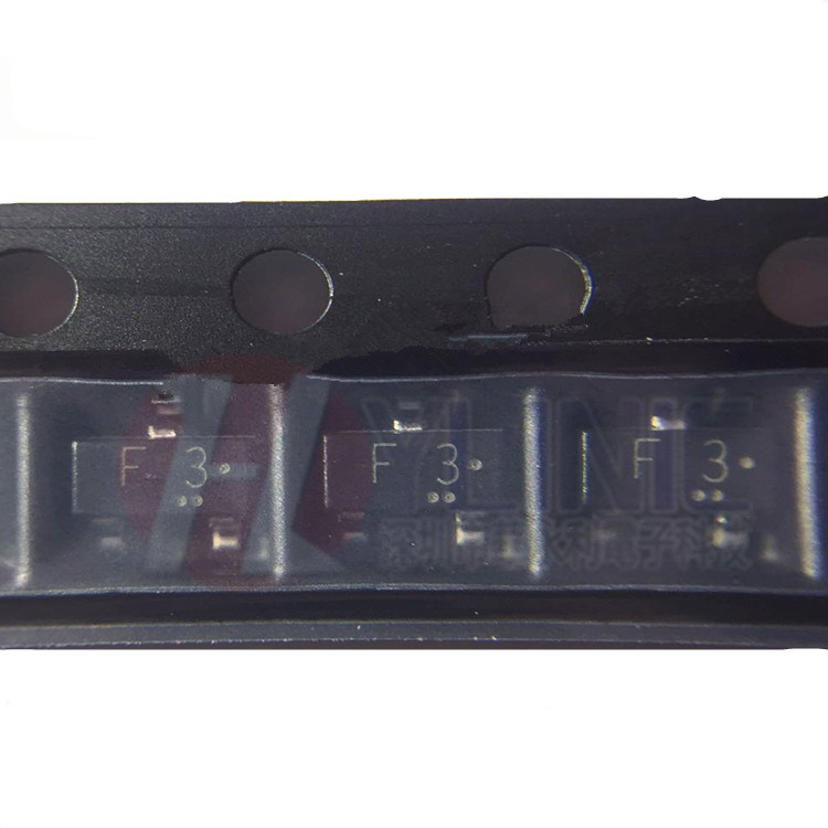 开关二极管1SS193 SOT23 丝印F3 80V 100MA