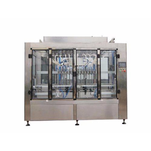 自动食用油灌装设备用途 恒鲁机械 自动食用油灌装设备图片