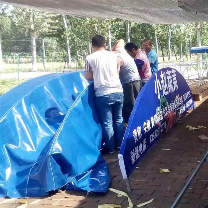 鲁耐 帆布篷加工 防雨篷直销 大型篷制造