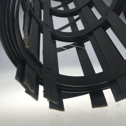 钢塑土工格栅50kn凸结点钢塑格栅厂商
