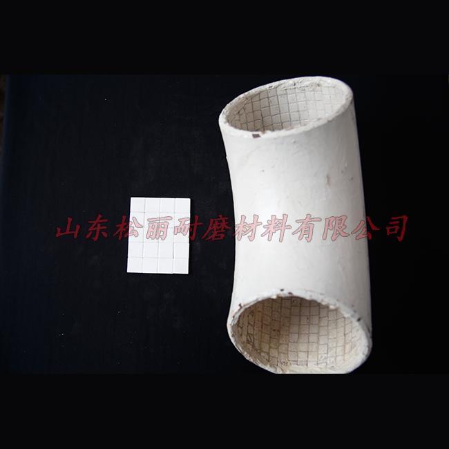 抗冲击耐磨陶瓷衬板施工安装 高耐磨耐磨陶瓷衬板生产加工 鲁松丽