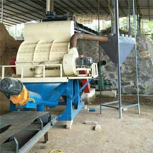 生物质颗粒锯末粉碎机原理图 万盈 树枝锯末粉碎机厂商