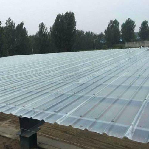 屋面采光板批发商 带铁边采光板放心省心 通盛彩钢