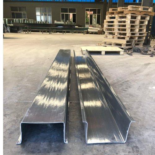 防腐玻璃钢集水天沟生产企业 玻璃钢集水天沟订制 安得