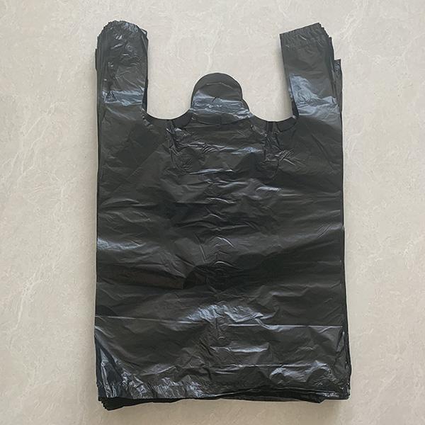 家用黑色手提袋定制 世起塑料 黑色手提袋单价