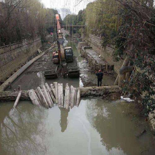 湖南哪里有河道清淤公司 华放建设 浙江哪里有河道清淤公司